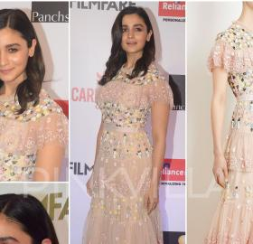 Celebrity Style,ami patel,alia bhatt,Needle and Thread,Filmfare Glamour and Style Awards 2017