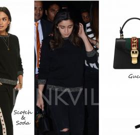 Celebrity Style,gucci,ami patel,Céline,alia bhatt,Scotch and soda