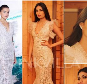 Celebrity Style,ami patel,Athiya Shetty,Tarek Sinno,Filmfare Awards 2018