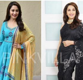 Celebrity Style,madhuri dixit,Madhuri Dixit Nene,Jade by Monica and Karishma,Sukriti and Aakriti