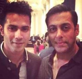 Image result for Watch Salman Khan and Varun Dhawan match steps on Judwaa's song Tan Tana Tan