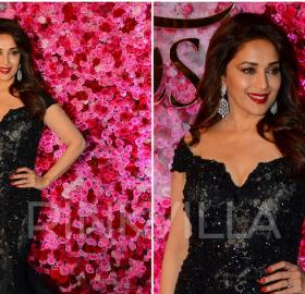 Celebrity Style,madhuri dixit,tanya ghavri,dolly j,Lux Golden Rose Awards 2016