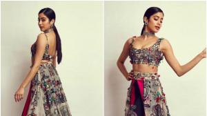 Janhvi Kapoor wears Anamika Khanna for an awards event : YAY or NAY?