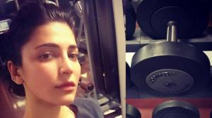 Shruti Haasan's WORKOUT photos will be the apt motivation for you to work out amid quarantine period