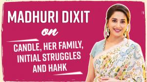 Madhuri Dixit on her struggles, being called 'too skinny', her debut single Candle, kids & husband