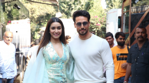 Baaghi 3 stars Tiger Shroff and Shraddha Kapoor stun and slay as they promote their film at a reality show
