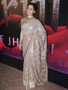 Happy Birthday Kangana Ranaut: Best saree looks of Kangana that you can take inspiration from; See Pics
