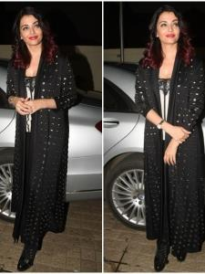 Aishwarya Rai Bachchan is all smiles as she attends Fanney Khan's screening