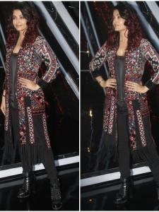 Aishwarya Rai Bachchan promotes Fanney Khan on the sets of Indian Idol 10