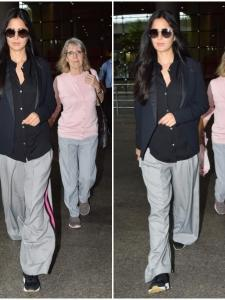 Katrina Kaif returns to the city with her mom Suzanne Turquotte