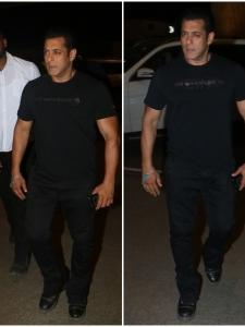 Salman Khan keeps it casual at the airport