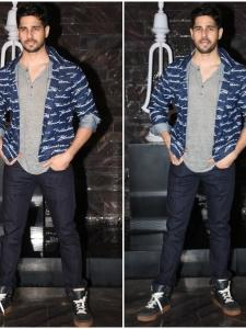 Sidharth Malhotra is all smiles as he attends Kiara Advani's birthday bash