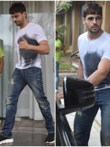 Sidharth Malhotra keeps it casual as he gets clicked in the city