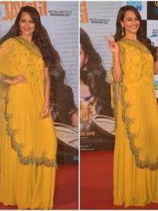 Sonakshi Sinha is all smiles at Happy Phirr Bhag Jayegi's trailer launch