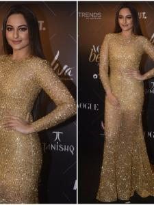 Sonakshi Sinha's fashion game is on point at Vogue Beauty Awards 2018