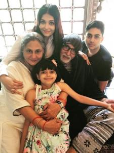 PHOTOS: Aaradhya Bachchan's awwdorable moments with grandparents Jaya & Amitabh Bachchan will melt your heart