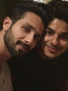 PHOTOS: Shahid Kapoor and Ishaan Khatter's strong bond is unmissable; Check it out