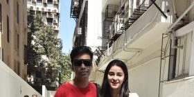 Ananya Panday and mentor Karan Johar snapped at filmmaker's office, another project on the cards? See Pics