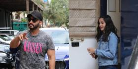 Arjun Kapoor papped at India's Most Wanted promotions; Ananya Panday clicked as she shoots for a brand