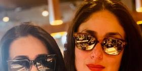 Kareena Kapoor Khan and sister Karisma Kapoor are twinning in Karan Johar's latest post; See PIC