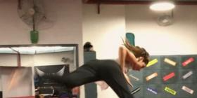 Bharat fame Disha Patani's sleek butterfly kick proves that she is one of the fittest actresses; Watch
