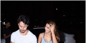 Disha Patani is highly impressed by Tiger Shroff's parkour skills in a BTS video; Check it out