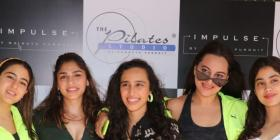 PHOTOS: Sara Ali Khan, Janhvi Kapoor & Sonakshi Sinha pose for a picture perfect moment as they party together