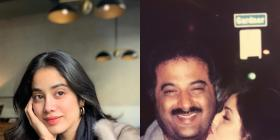 Photo: Janhvi Kapoor shares a beautiful throwback picture of Sridevi and Boney Kapoor