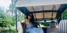 Kangana Ranaut is all smiles as she enjoys a safari ride in Jaipur; View PIC