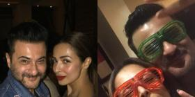 Malaika Arora wishes Sanjay Kapoor on his birthday & shares a series of fun pictures; Check it out