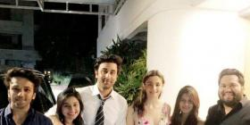 Lovebirds Ranbir Kapoor and Alia Bhatt greet their fans after attending an event in the city; see pics