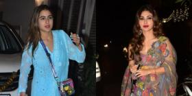 Sara Ali Khan, Mira Rajput, Mouni Roy and other stunning looks that left us impressed at Diwali parties so far