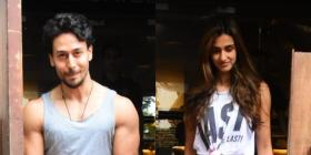 Tiger Shroff and Disha Patani look stunning together as they step out for a lunch date acing their comfy look