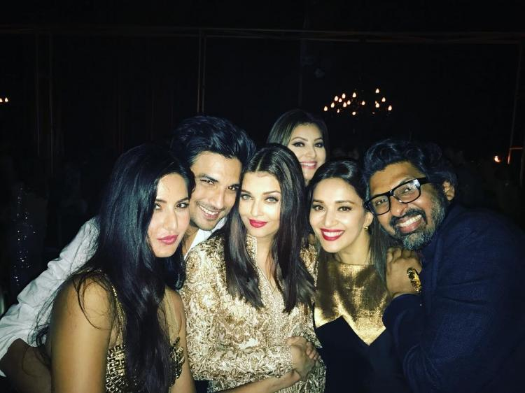the sight of aishwarya holding hands with katrina and
