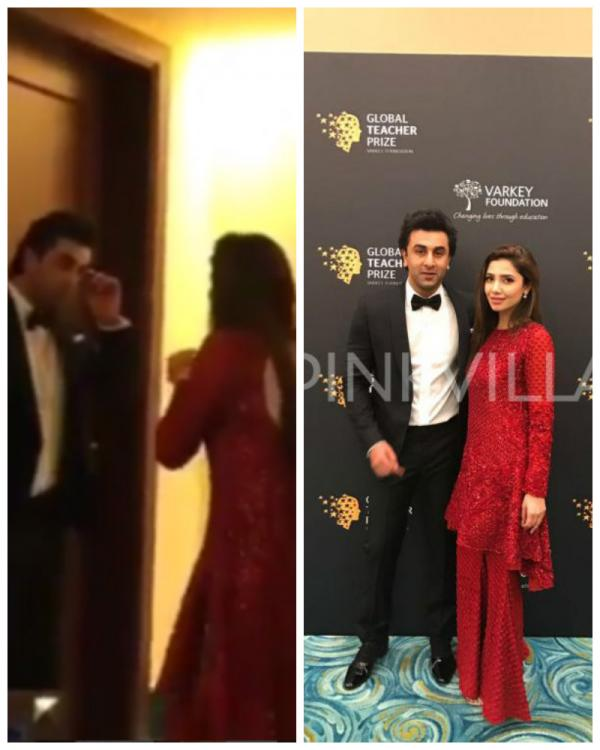 watch these backstage videos of ranbir and mahira are