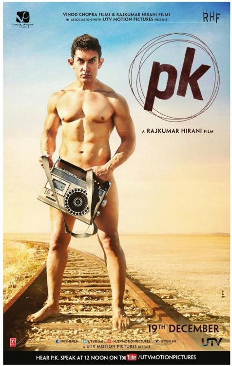 PK motion poster: Aamir Khans Bhojpuri dialect makes you