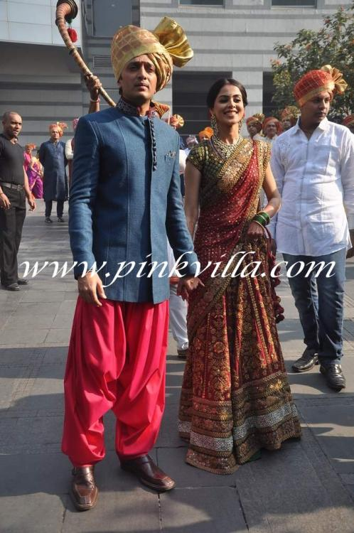 riteish deshmukh and genelia dsouza at his brothers