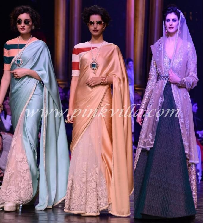 Lakme Fashion Week Winter/ Festive 2013 : Sabyasachi ... Sabyasachi Lakme Fashion Week Winter Festive 2013