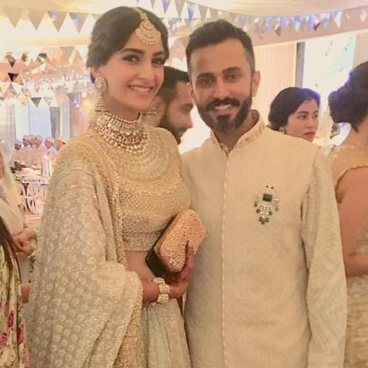 Image result for sonam kapoor and anand ahuja pics