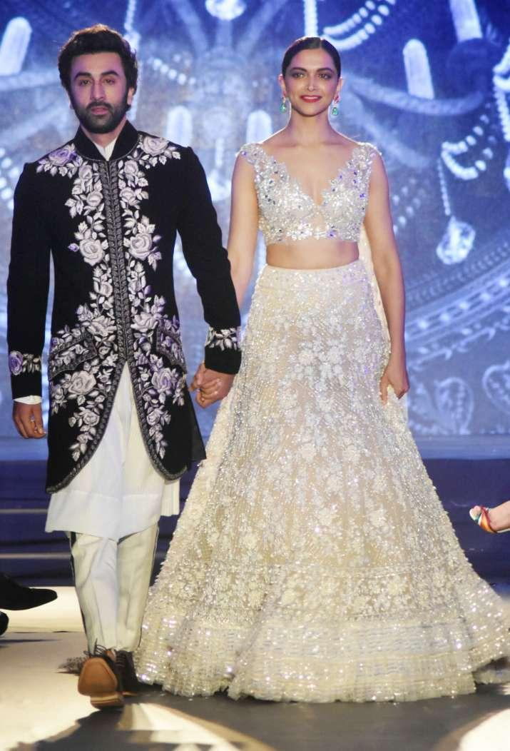 When they walked down the ramp together