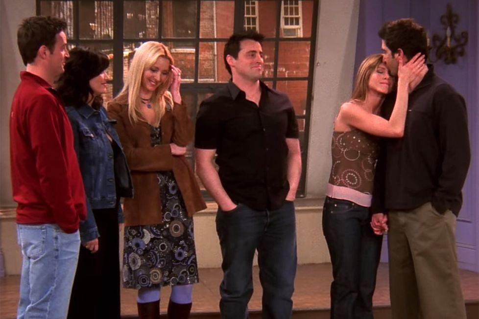 The One Where Rachel gets off the plane