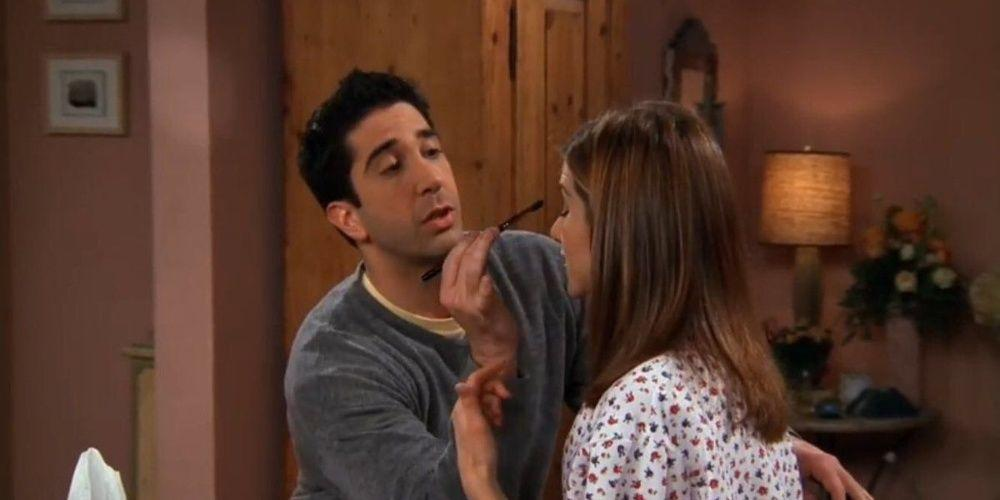 Ross missing his most memorable chance to be on TV to help out Rachel