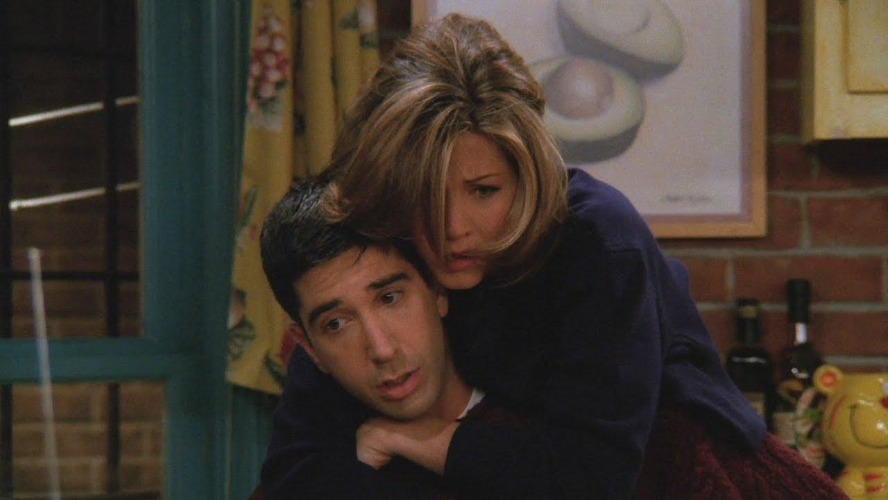 """Ross Finds Out Rachel is """"Under Him"""""""