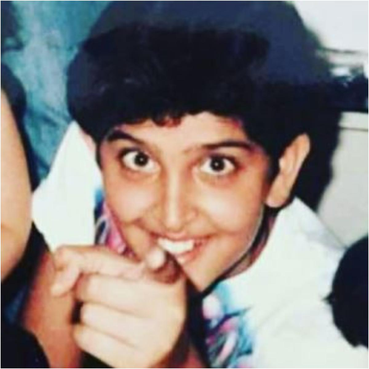 Hrithik Roshan's childhood pictures will make you fall for him again!