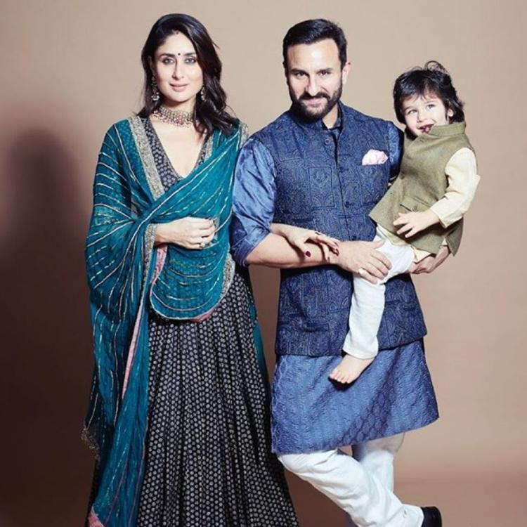 Taimur's gleeful poses with his star parents