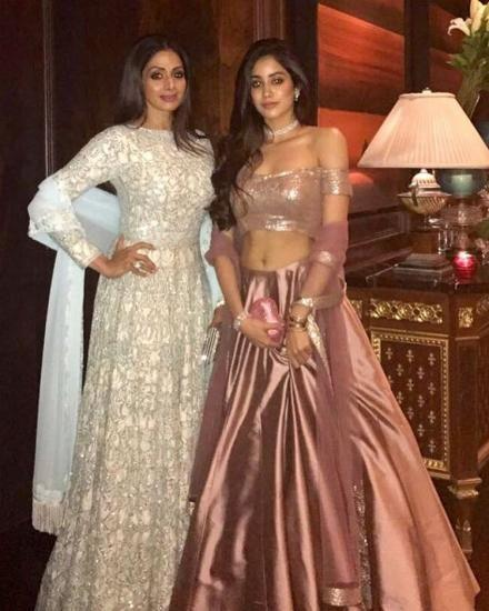 Janhvi Kapoor glows differently with her mum