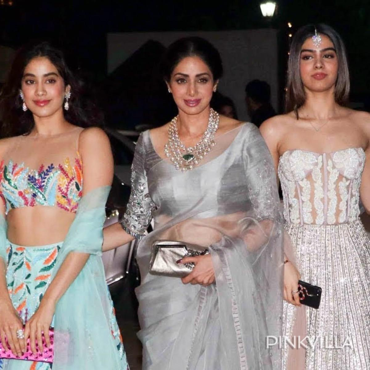 Check out these most stylish moments of late Sridevi with her daughters