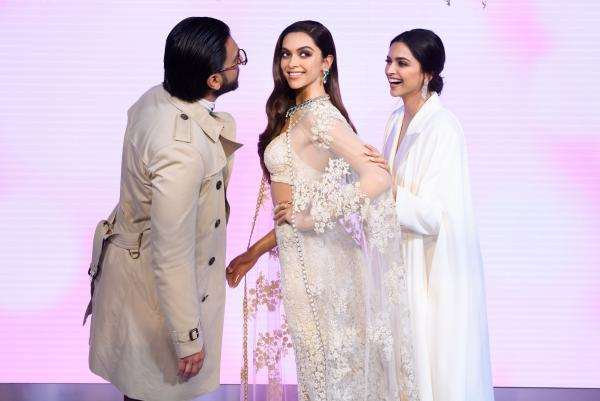 Ranveer Singh and Deepika Padukone head to London