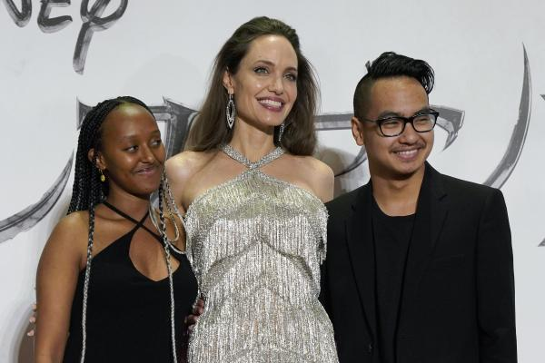 Angelina Jolie stuns in Japan amid reunion with son Maddox