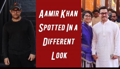 Aamir Khan Spotted In a Different Look. Check This Video Out to Know More.